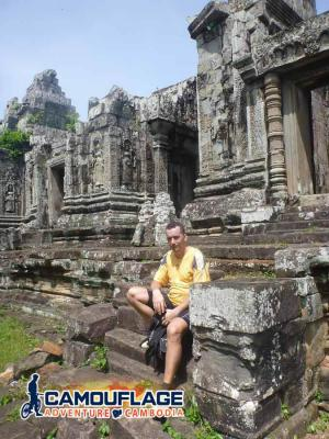 Phnom Bok Temple, Siem Reap Cycling Tour
