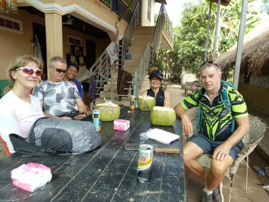 Countryside house of Siem Reap, Cambodia Cycling Tour