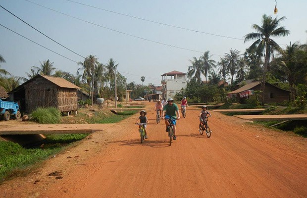 Family Cycling Tour, Siem Reap Cycling Tour