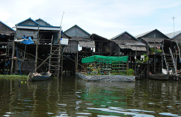 Great Lake Tonle Sap Kampong Phluk, Siem Reap Cycling Tour