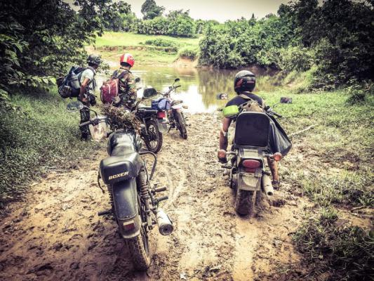 Trails of Kulen Mountain, Motorbike Adventures Siem Reap