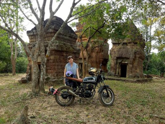 Journalist tours, camouflage adventures cambodia