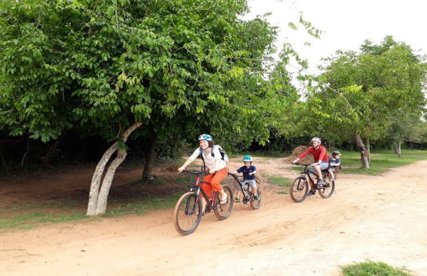 Family holiday Cycling Tour 3D