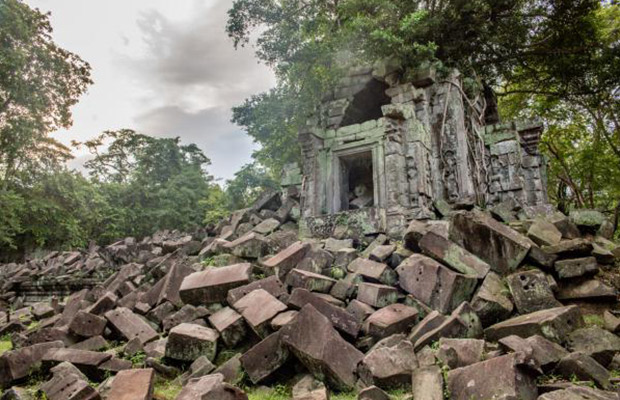 Ruins Temples of Beng Mealea Cycling Tour.
